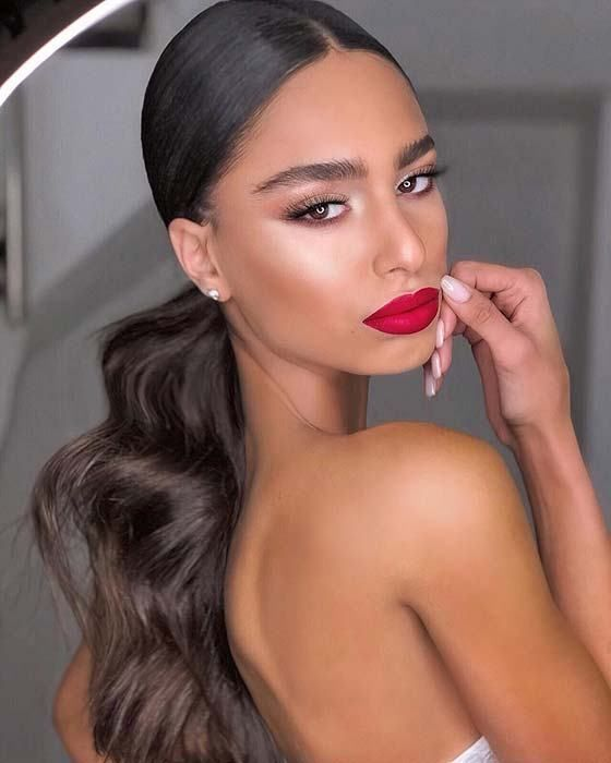 21 slender ponytail hairstyles perfect for any occasion # occasion #slavery # any #perfect #ponytail