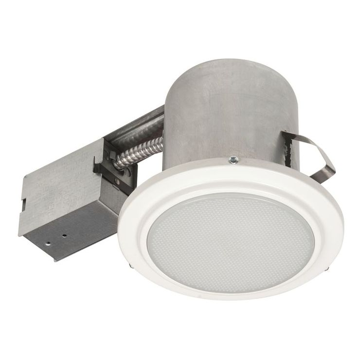"""Globe Electric 90036 5"""" Recessed Shower Light Fixture White Recessed Lights Recessed Trims Shower Trims"""