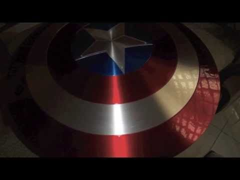 Captain America shield project- using a satelite dish... tougher difficulty
