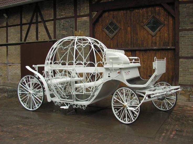 """Hochzeitskutsche """"Cinderella"""" - Das besondere zur Hochzeit"""