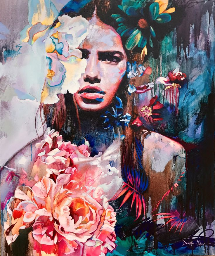 Metamorphosis- original oil painting by Dimitra Milan