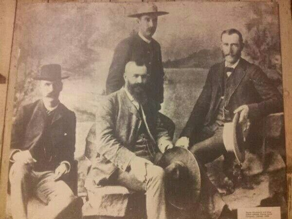 Picture of Mohawk hair in 1889