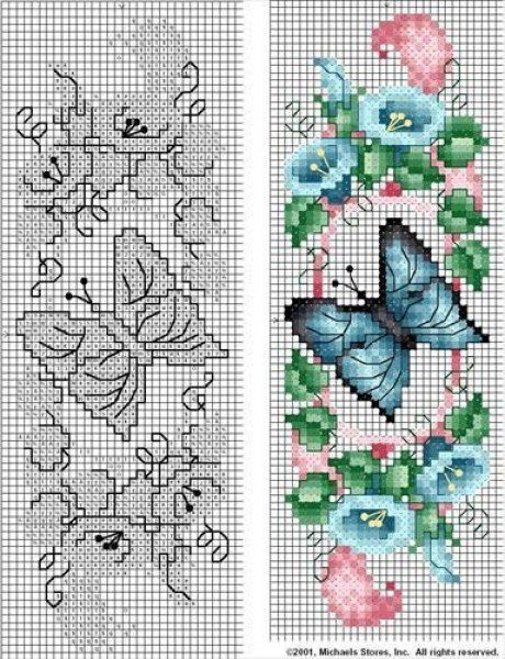 mariposas en pundo de cruz06