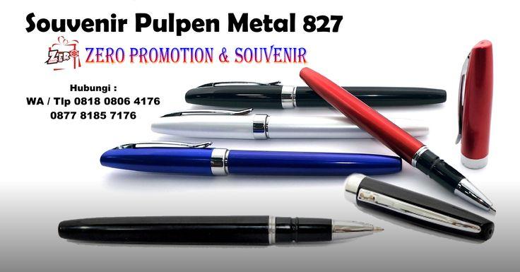 Jual Souvenir Pulpen Metal 827 - pen promosi