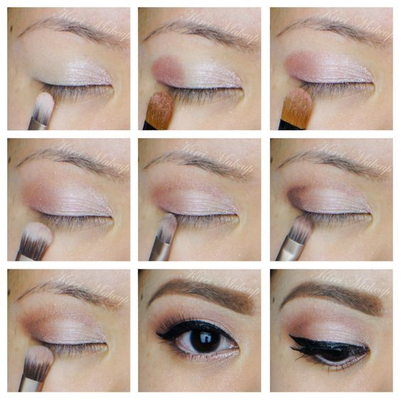 Top 12 Asian Eye Makeup Tutorials For Bride – Famous Fashion Wedding Design Idea - Easy Idea (10)