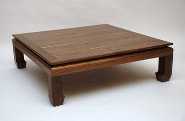 Ming Square Coffee Table - asian - coffee tables - kansas city - Belak Woodworking LLC