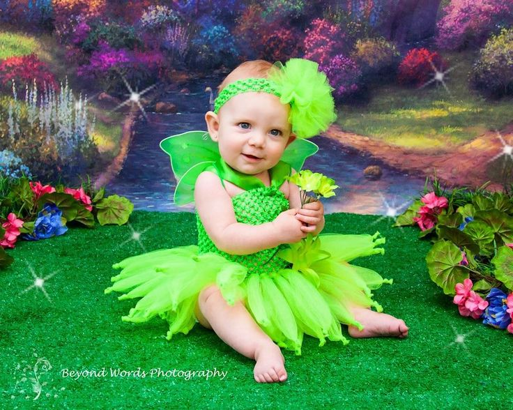 Baby Tinkerbell Costume made by Lil Bottoms and Ties  sc 1 st  Pinterest : tinkerbell costumes for babies  - Germanpascual.Com