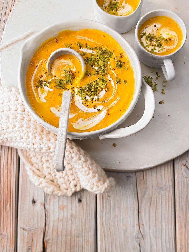 Pastinaken-Kürbis-Suppe