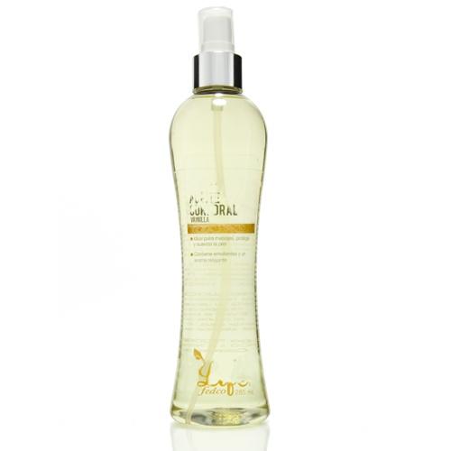 LIFE ACEITE MASAJE LIFE BODY VAINILLA 285ML Posee propiedades emolientes, hidratantes y relajantes, proporciona nutrientes esenciales que suavizan y protegen la piel.