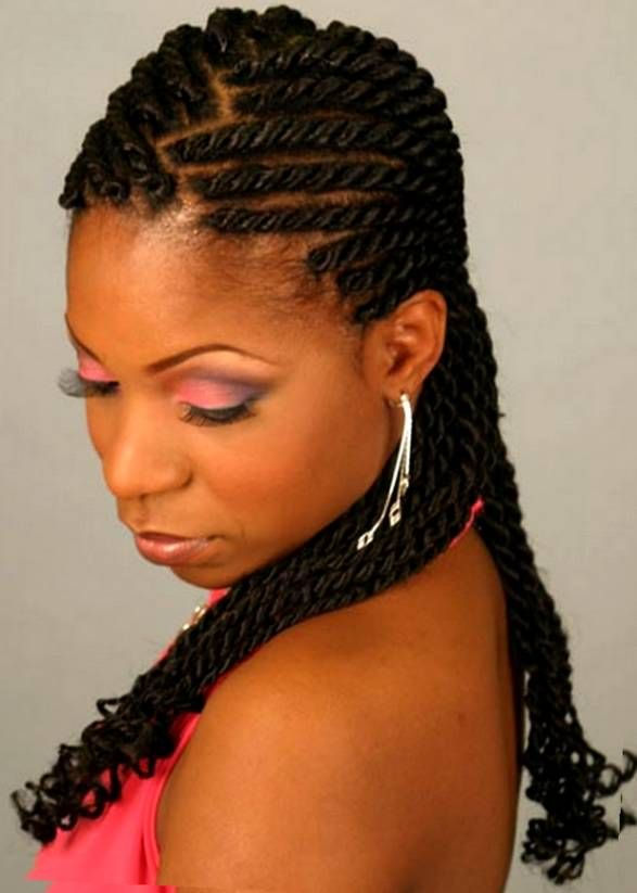1000 Images About Braids On Pinterest Black Braided