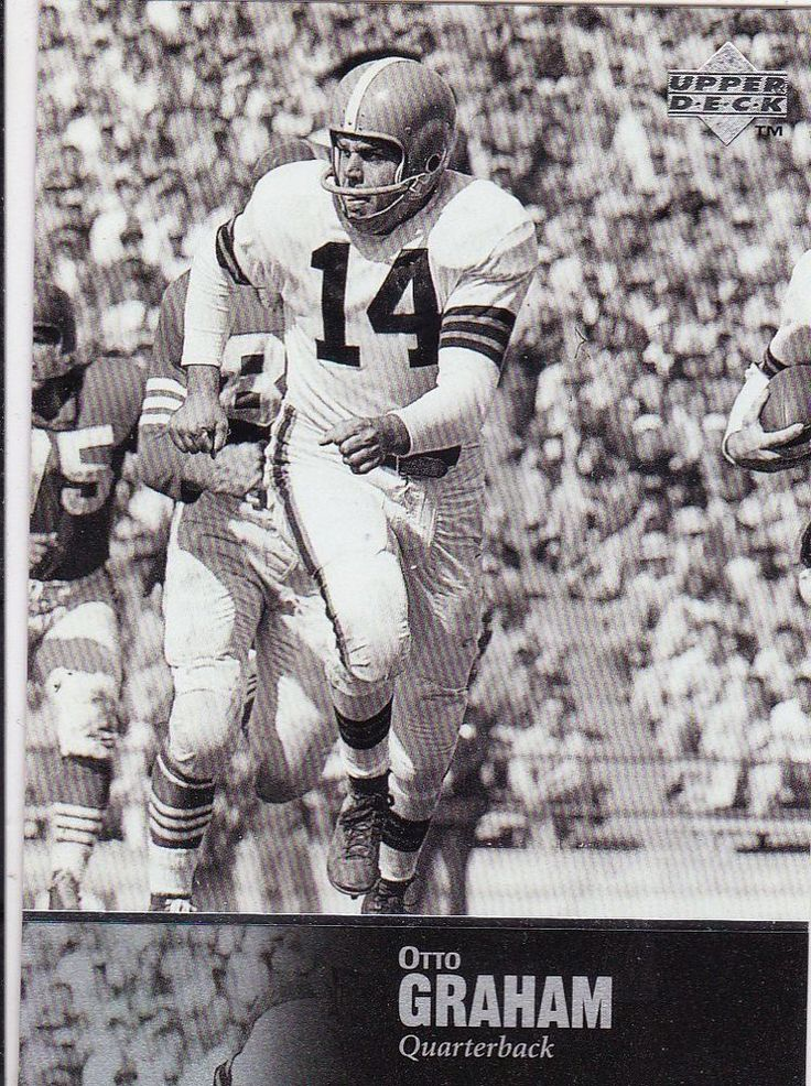 CLEVELAND BROWNS OTTO GRAHAM 1997 UD LEGENDS FOOTBALL CARD #34