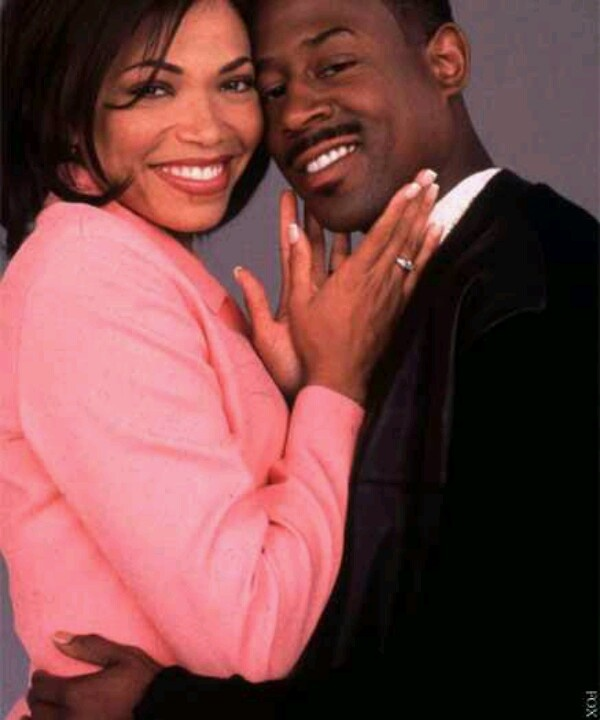 Tisha Campbell Martin as Gina and Martin Lawrence as Martin - Martin