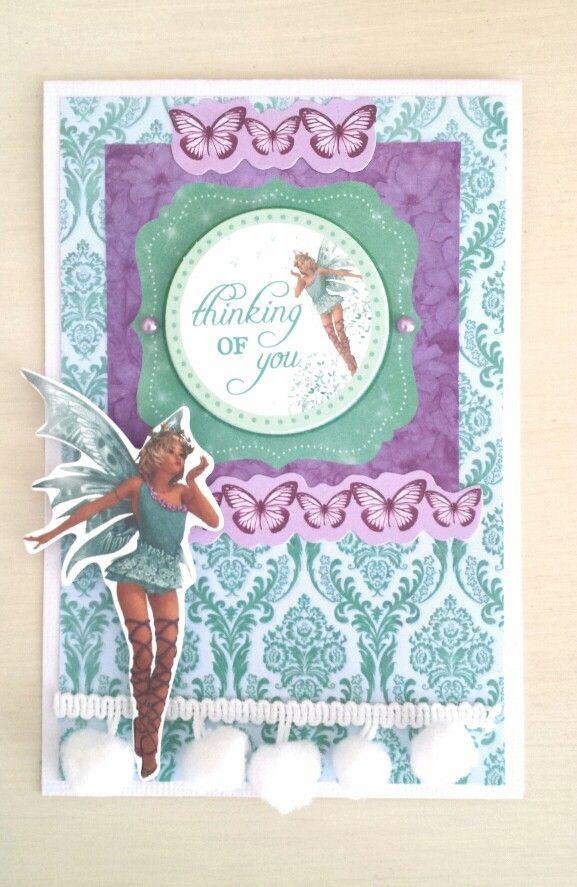 Kaisercraft : Fairy Dust collection:card by Amanda Baldwin
