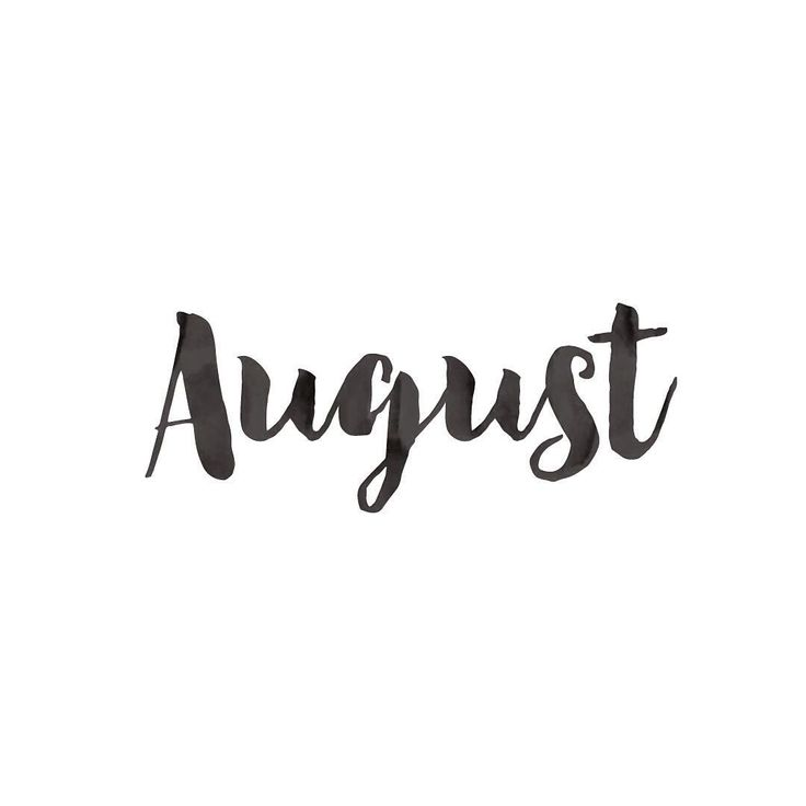 Exceptional Hello August. Please Be A Good One!