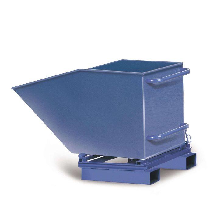 GTARDO.DE:  Gabelstapler-Muldenkipper MS186, 600 l Inhalt, stationär, LxBxH 1540x845x900 mm 621,00 €