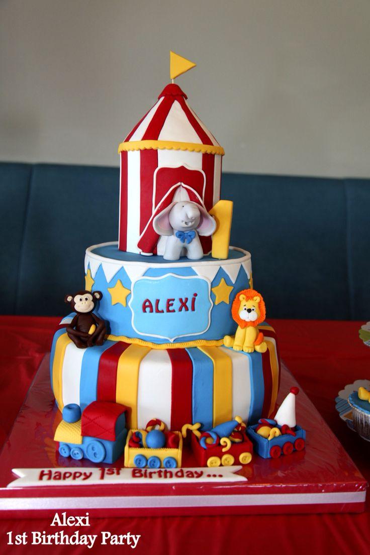Alexi s first birthday party  #circusbirthdayparty #pastamakara