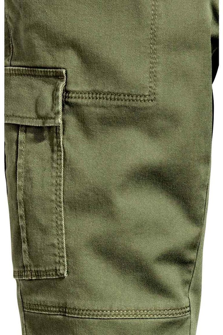 Cargo trousers - Khaki green - Ladies | H&M IE