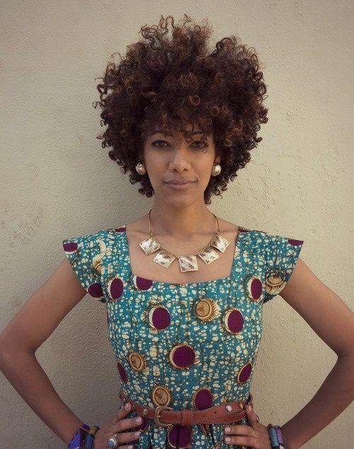 LOVE her curls and cut!