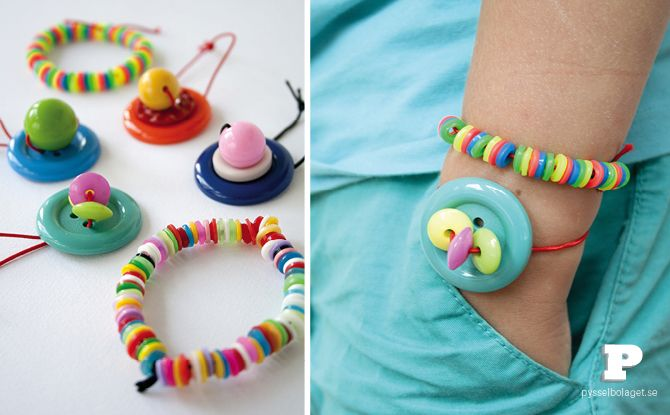 make button bracelets...  Here's another button one for you @Amy Lyons Lyons Moon
