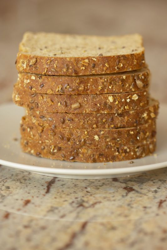 100% Whole Grain Wheat Bread | Recipe
