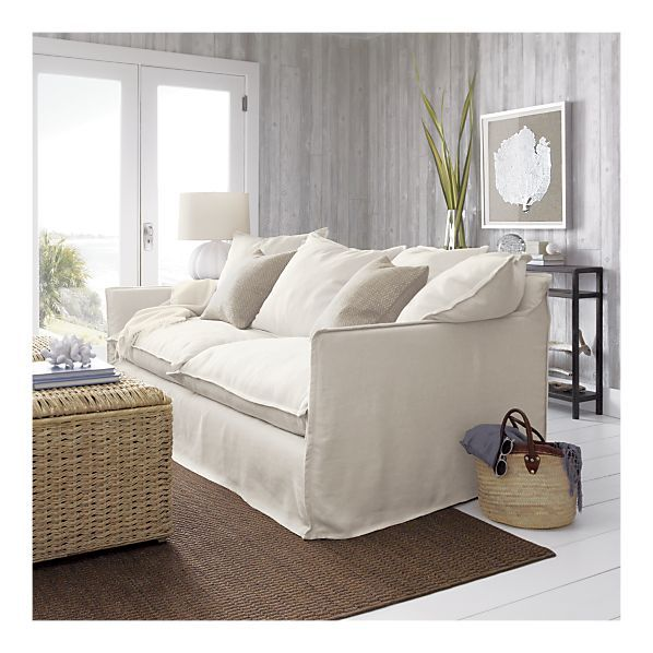76 best Sofas images on Pinterest Crates Barrels and Living