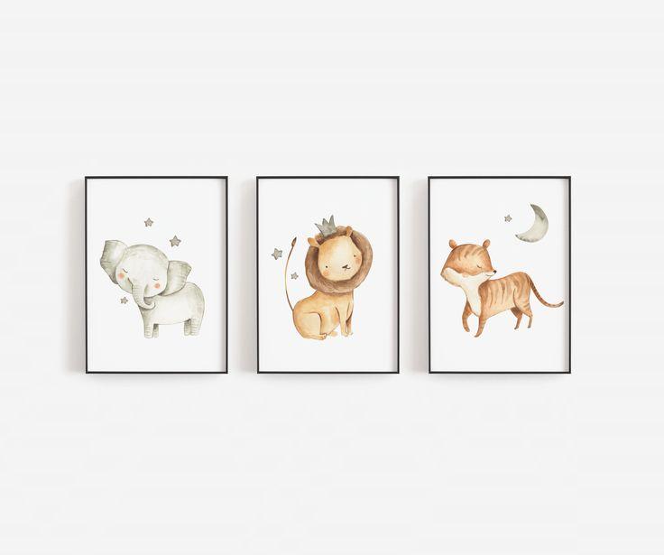 Safari Poster Bestellen In 2020 Wandschmuck Poster