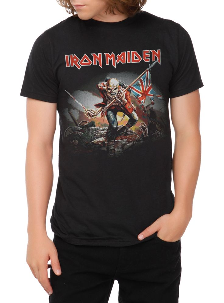 Iron Maiden The Trooper T-Shirt, BLACK