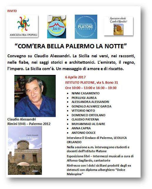 COM'ERA BELLA PALERMO DI NOTTE -