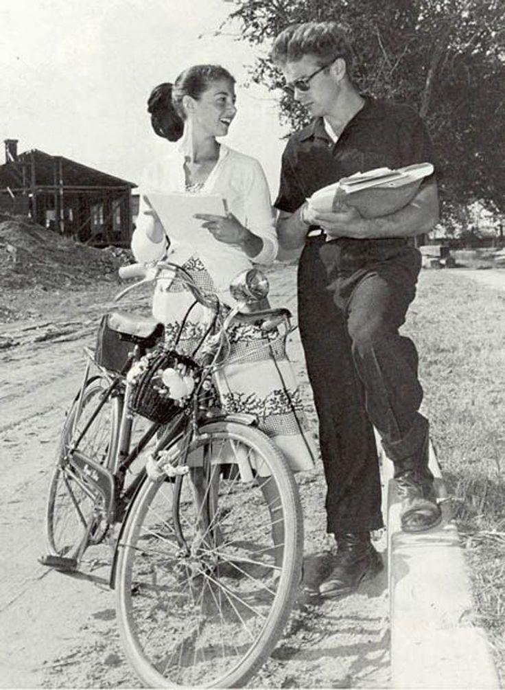 James Dean & Pier Angeli, 1954