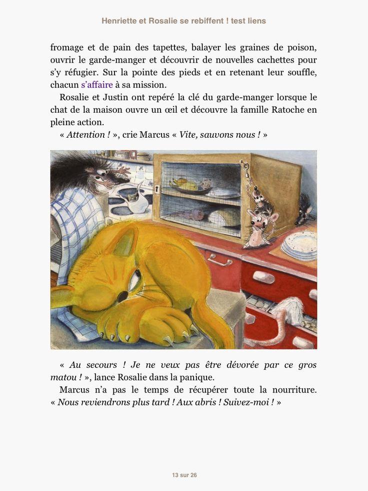 """ebook created by Audrey Keszek """"Henriette et Rosalie se rebiffent"""" - Caroline Miller - Editions Anatole #epub #livrenumérique #ebook"""