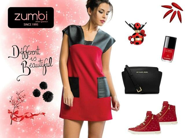 "Vestido ""Zumbi Urban Glamour"" ref: VTI1563 ( comprar aqui: http://tinyurl.com/htns9ay ) Disponível também nas lojas de Vila Nova de Gaia e São João da Madeira e na loja online http://www.zumbi.pt #newcollection #fashion #fall #trendy #trend #gifts #look #zumbiurbanglamour #winter #wintercollection #black #red #dress"