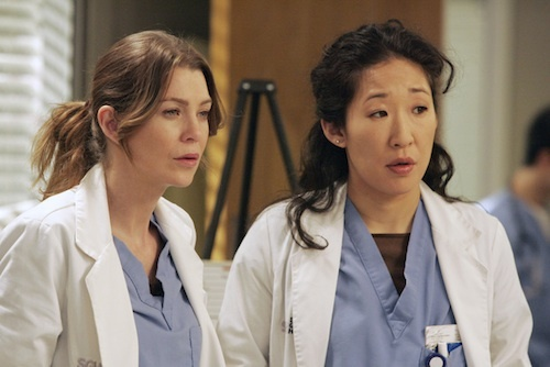 [PHOTOS] Grey's Anatomy Season 9 - The Meredith and Christina hour