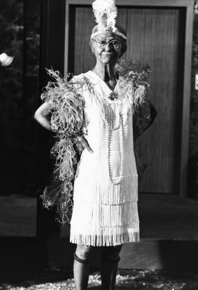 "Granny ""The Beverly Hillbillies"" Irene Ryan circa 1966. Great actress."