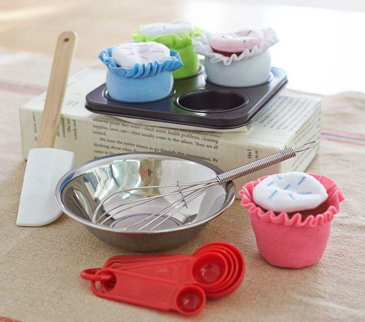 Soft Cupcake Set Pottery Barn Kids Toy Kitchen Toy
