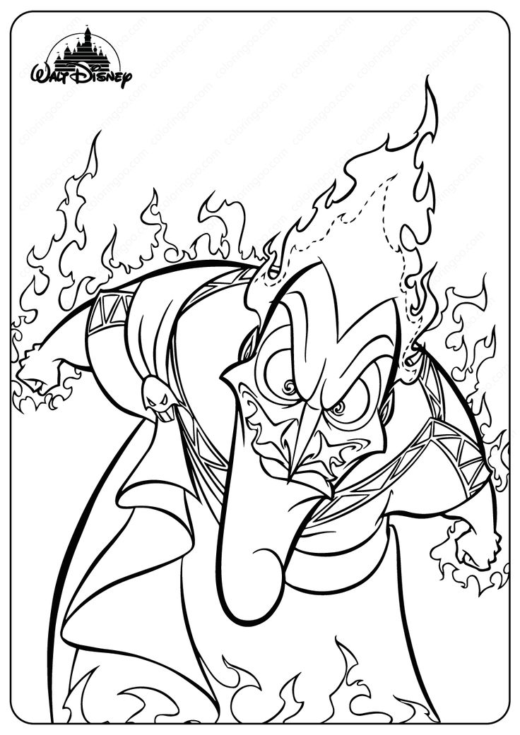 39+ Disney halloween coloring pages pdf ideas