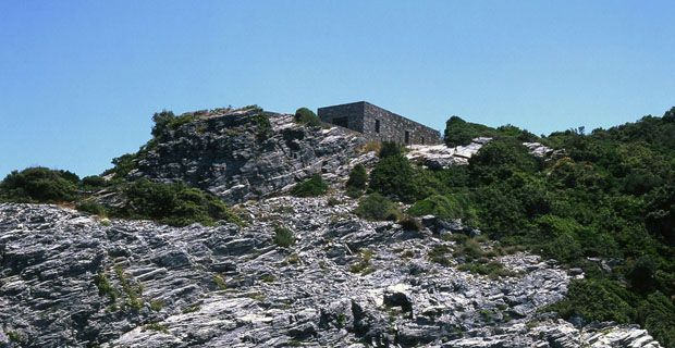 grecia, piccola capanna originaria