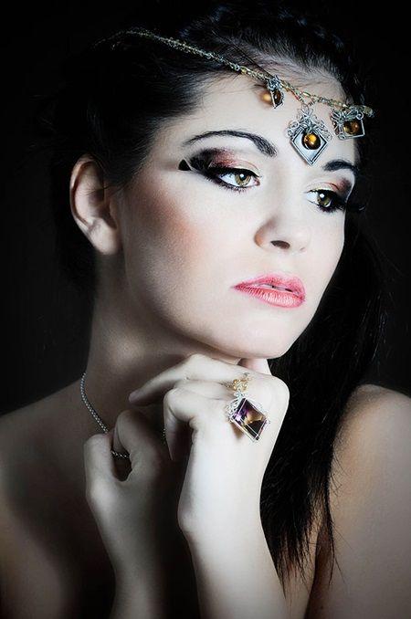 Makijaż orientalny - Małgorzata Bardadyn - make up artist #makeupartist #poland