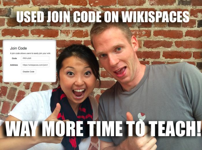 Free Technology for Teachers: Now Your Students Can Join Your Wikispaces Wikis Through Class Codes