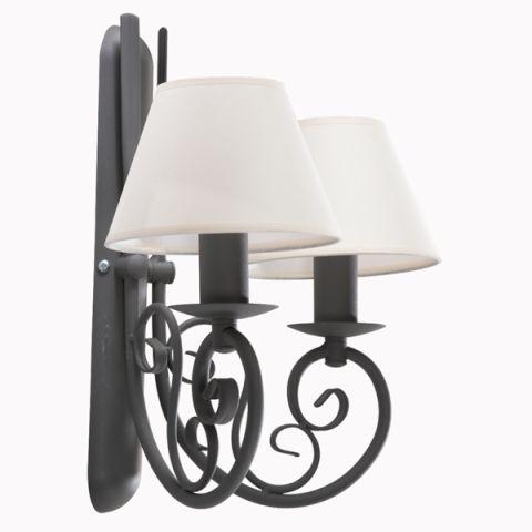 Kinkiet Podwójny HERAKLES nr 2264 #Lampa typu #Kinkiet - #Lampy i #Oświetlenie #DlaDomu