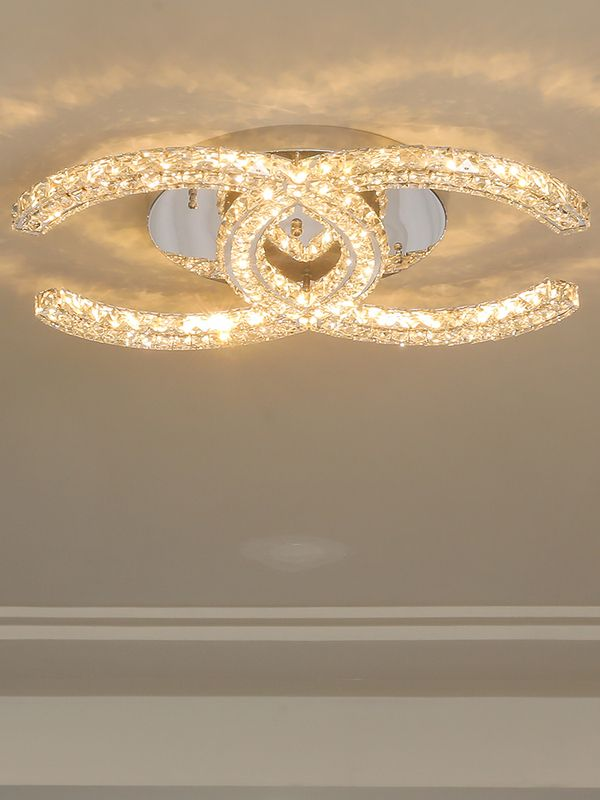 Modern Led Crystal Ceiling Light For Bedroom Crystal Ceiling Light Bedroom Ceiling Light Ceiling Lights