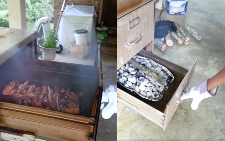 Filing Cabinet Barbecue