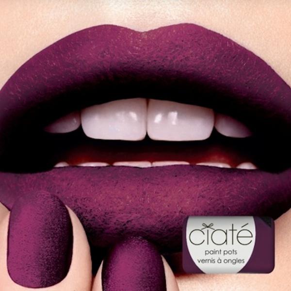 Ciate's new Velvet Manicure. OMG.
