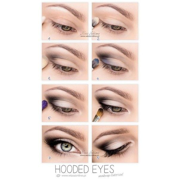 8 Makeup Tips for Hooded Eyelids Valuable Junk from an Urban Cowgirl via Polyvore featuring beauty products and makeup