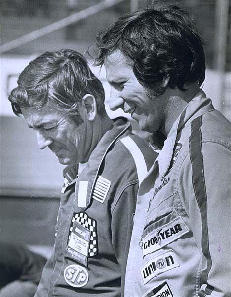 Bobby Allison & Dale Earnhardt