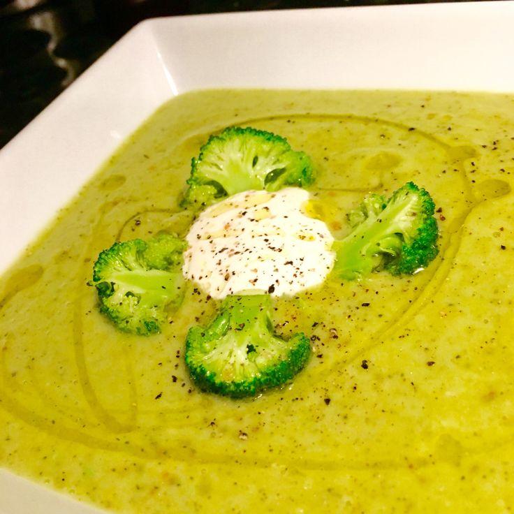 Brokkoli og avokado suppe – gladkokken