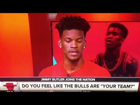 JIMMY BUTLER INTERVIEW SN TALKS CHICAGO BULLS TRADE RUMORS BEING LEADER ...