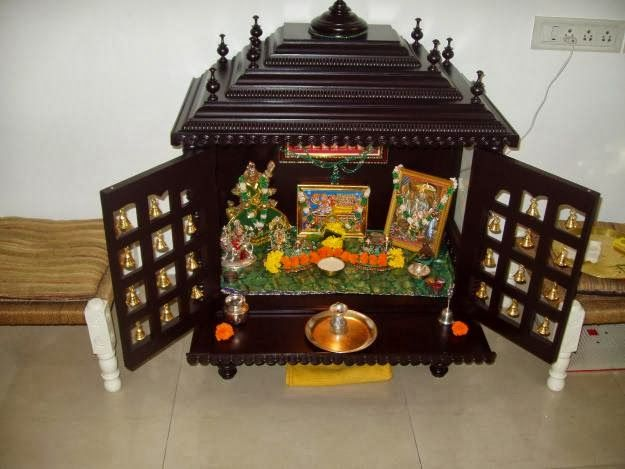 10 best pooja mandir images on Pinterest | Puja room, Indian ...
