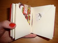 (Tutorial) Folded Book with POCKETS!