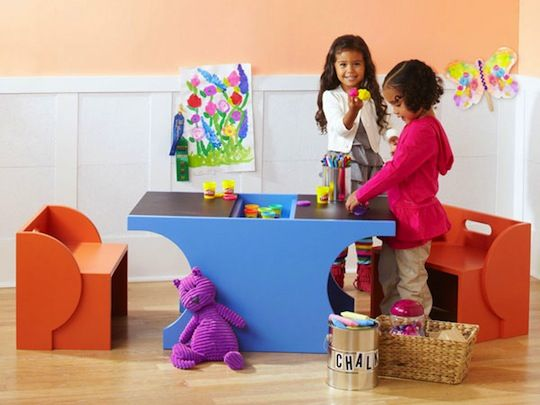 DIY Children's Play Table Lowe's Idea Library