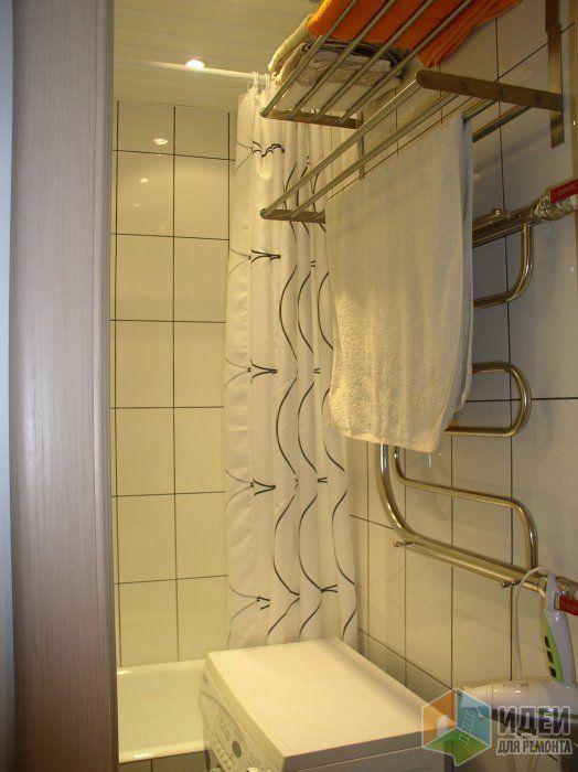 Маленькая ванная 1,5х1,7 метра